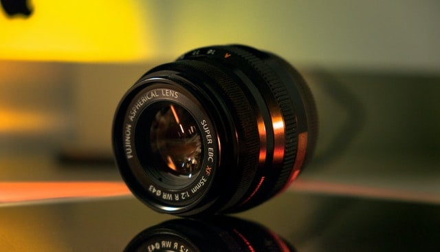 Fuji 35mm f2 lens