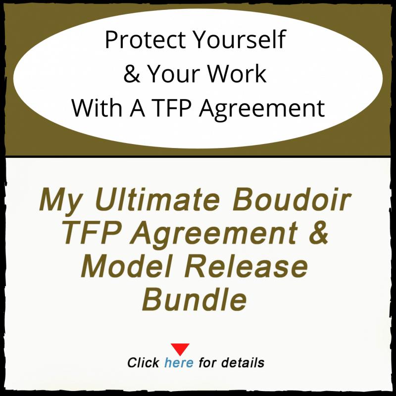 Boudoir TFP Agreement
